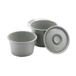 Nova Commode Bucket Splash Shield Combo With Lid 8450b