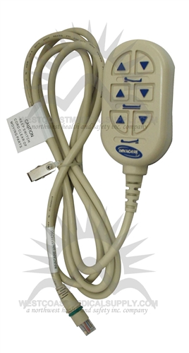 [DIAGRAM_3ER]  hospital, bed, beds, invacare, medical equipment, part, parts, pendant,  pendent, hand control, hand controls, replacement, 1115290, Phone Plug | Hospital Bed Remote Control Wiring Diagrams |  | West Coast Medical Supply